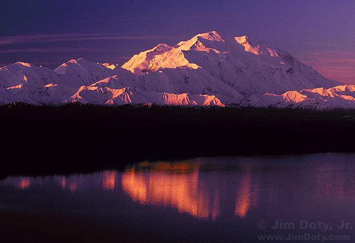 Denali Sunrise from Reflection Pond