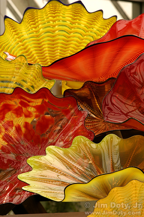 Chihuly Glass, Columbus Ohio. March 7, 2004.