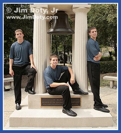 Three of Ryan. Photo copyright Jim Doty Jr.