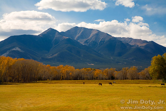 Mt. Princeton, one of the Collegiate Peaks
