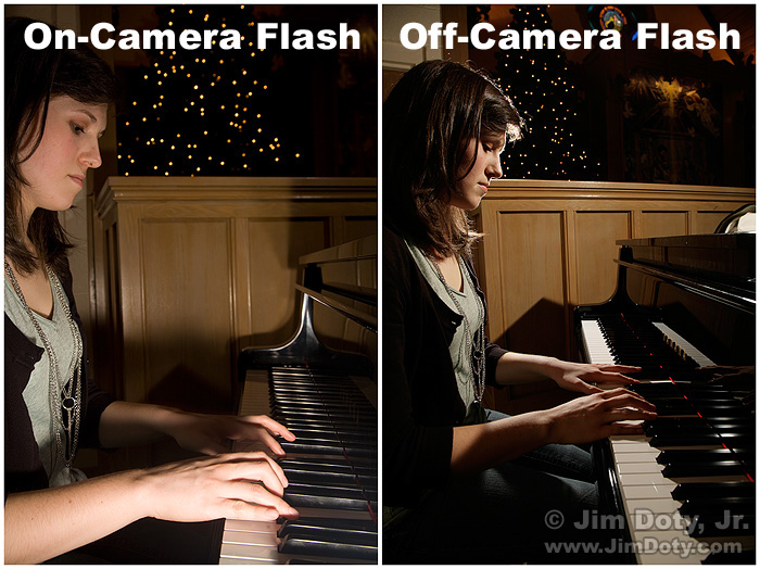 Off-Camera and On-Camera Flash
