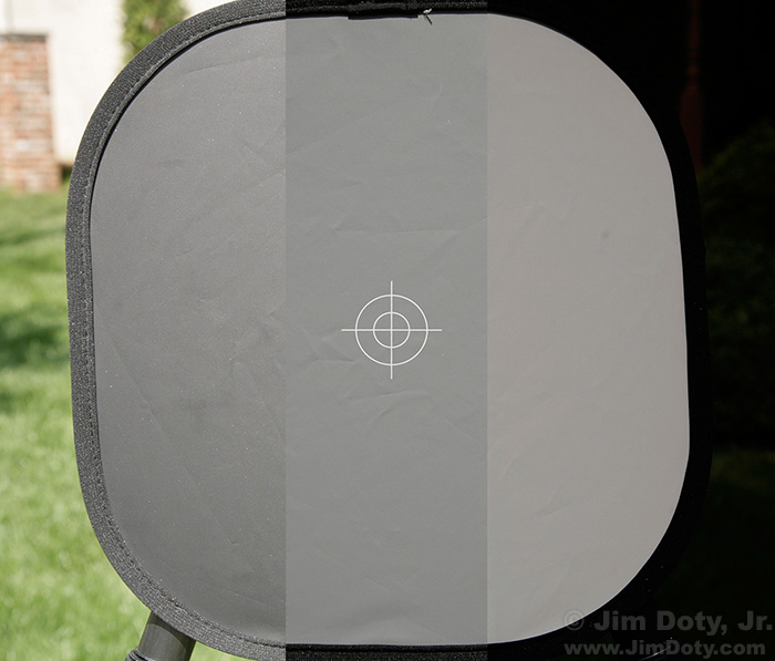 Calibration Target Combo, parts of all three photos spliced together.