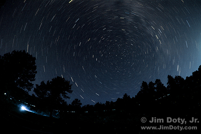 Star Trails, Rocky Mountain National Park