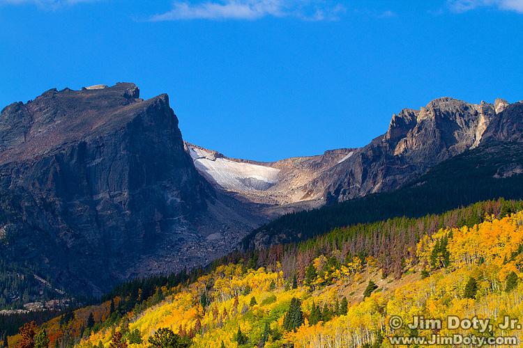 Hallet Peak, Flattop Mountain, Rocky Mountain National Park.