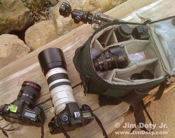 Basic camera gear.