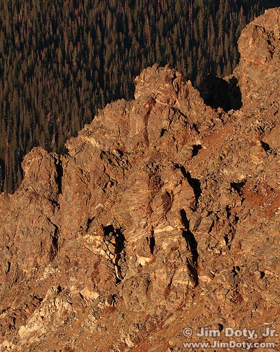 Rock Cut, Trail Ridge Road. Rocky Mountain National Park