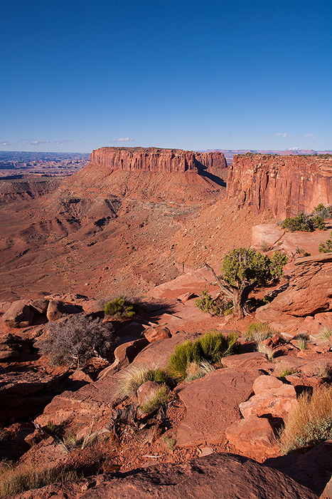 Grand View Point, Canyonlands National Park, Utah.
