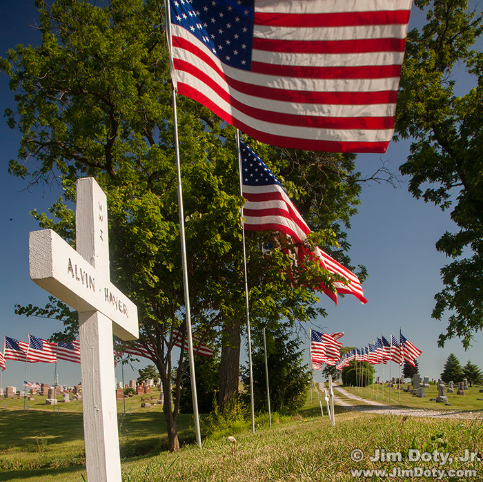 Memorial Day, Rose Hill Cemetery, Lamoni, Iowa