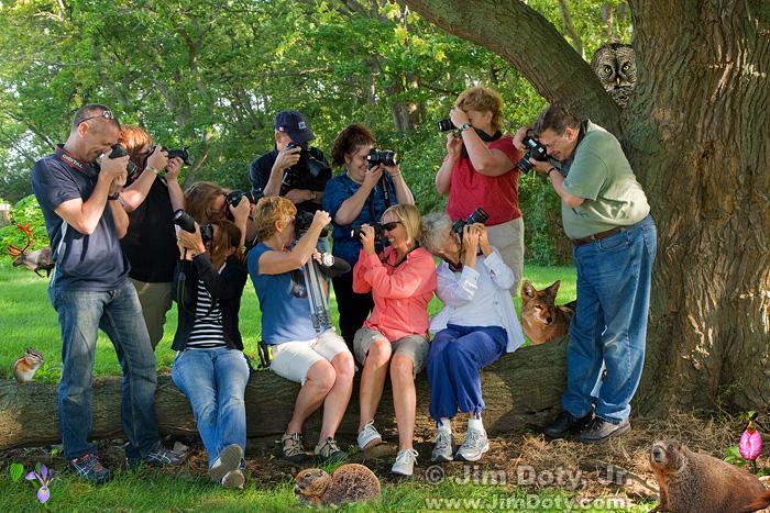 OSU's Stone Lab Photo Workshop, 2012