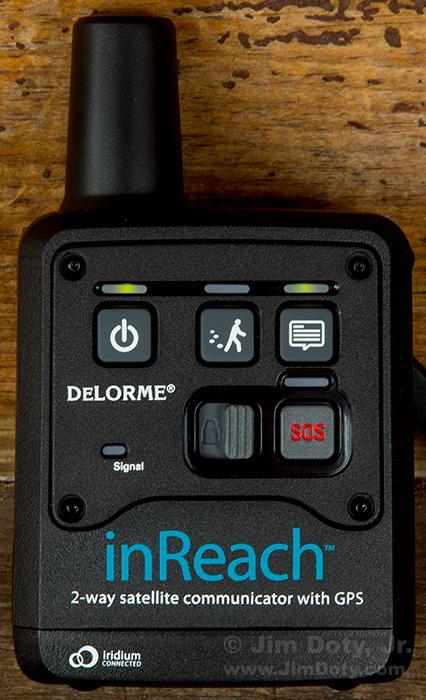 DeLorme inReach Two Way Satellite Communicator