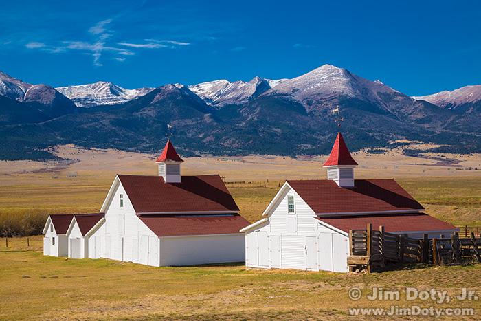 The Historic Beckwith Ranch and the Sangre de Cristo Mountains