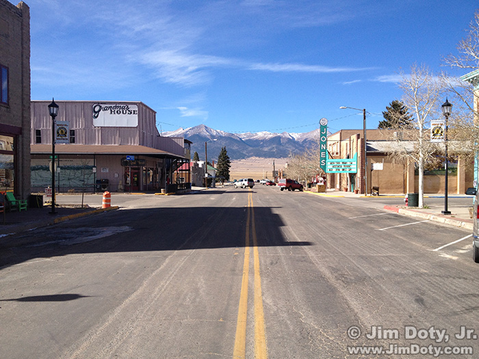 Westcliffe Colorado and the Sangre de Cristo Mountains