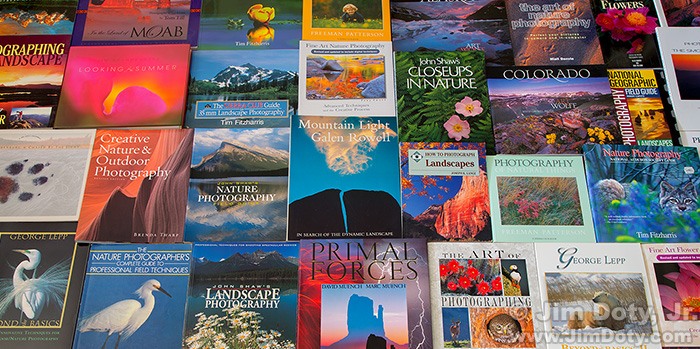 Nature photography books