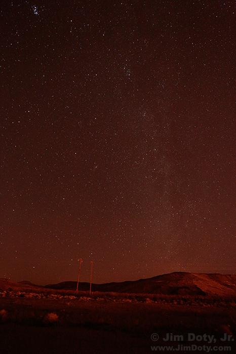 Night Sky Mojave Desert
