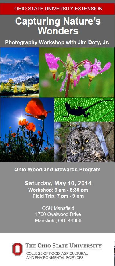 OSU-Mansfield Nature Photography Workshop