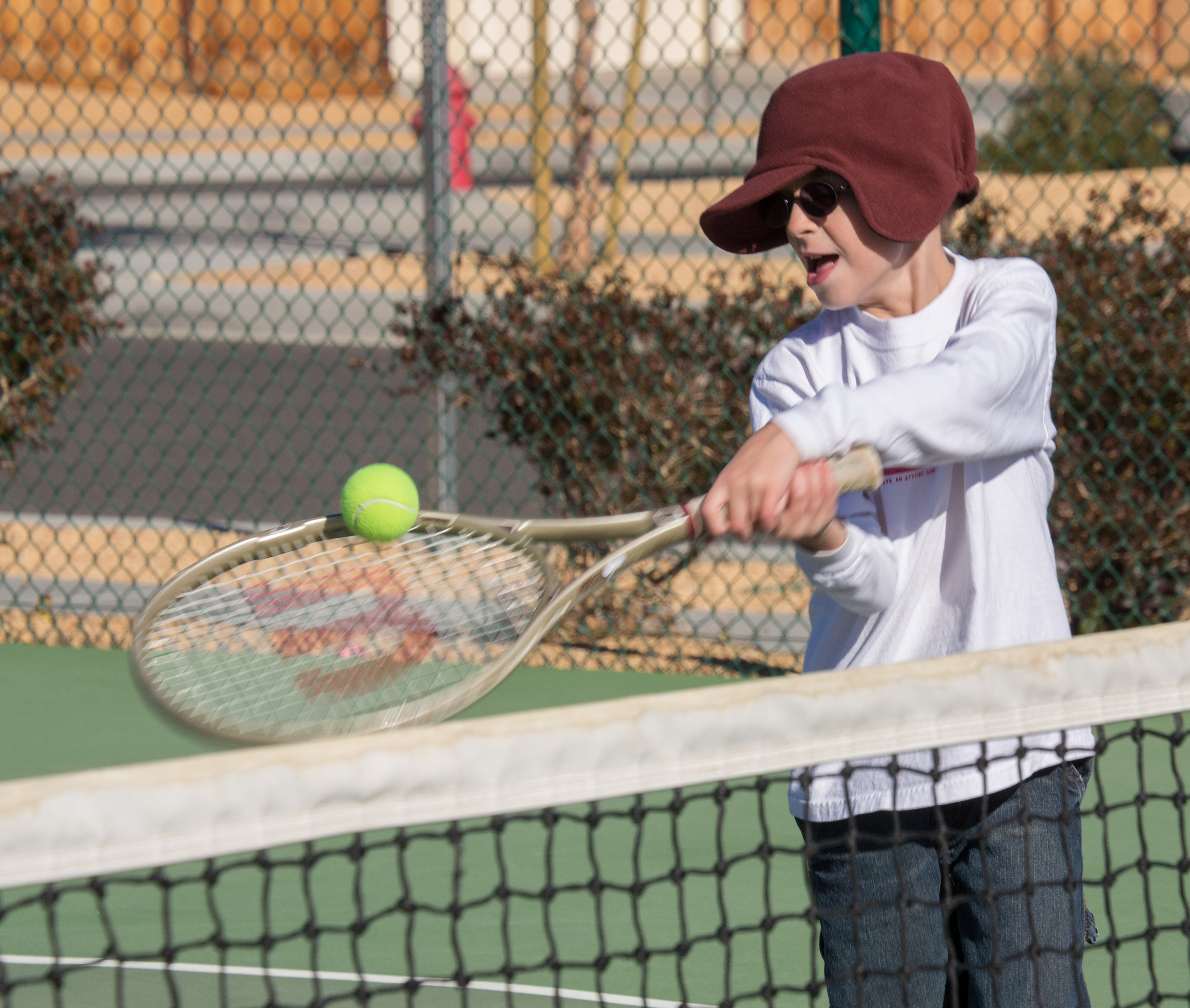 Ryan, Tennis, Fort Irwin California