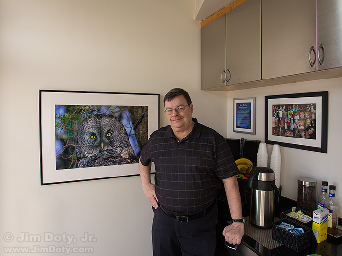 Jim Doty, Photo Exhibit at Changes
