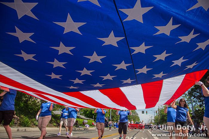 U.S. Flag, Parade
