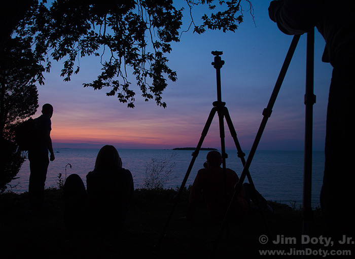 Photography Field Trip, Twilight, Gibraltar Island