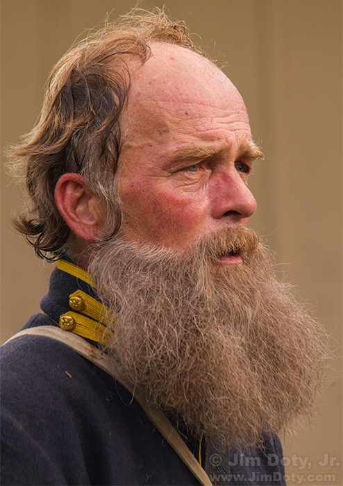 Soldier, Civil War Days, Lamoni, Iowa.
