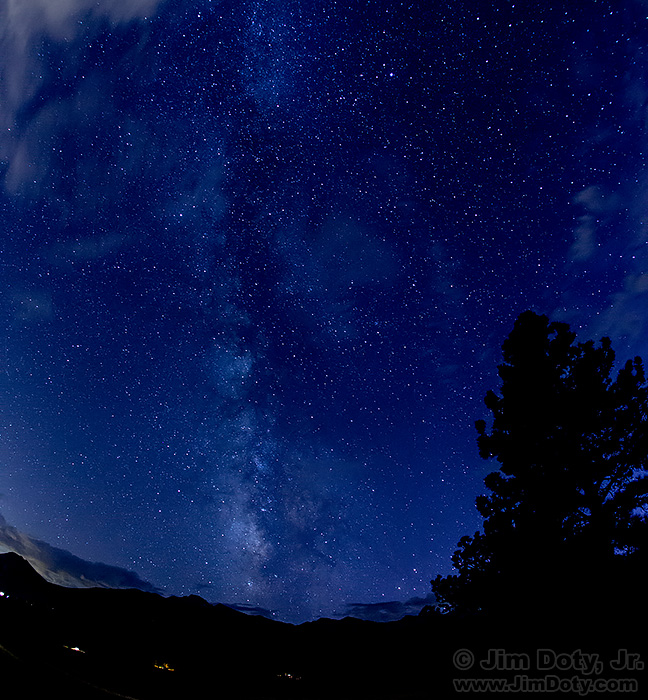 The Milky Way, Moraine Park, RMNP