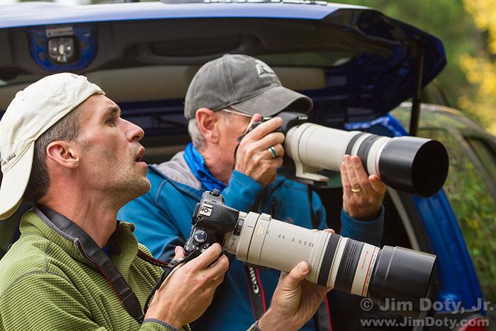 Photographers, Horseshoe Park