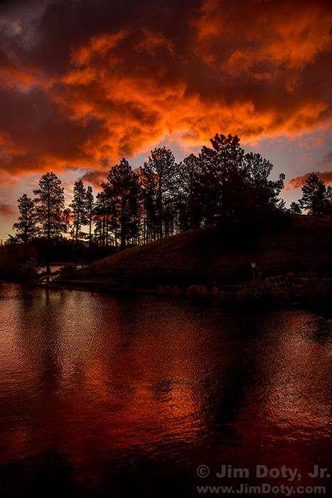 Sunrise Reflection, Rocky Mountain National Park