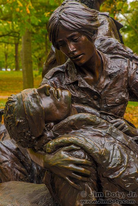 The Vietnam Women's Memorial, Washington D.C.