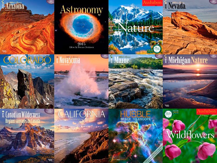 Just a few of the many beautiful calendars in my Amazon.com photography store.