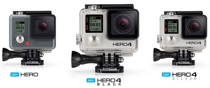 GoPro Lineup
