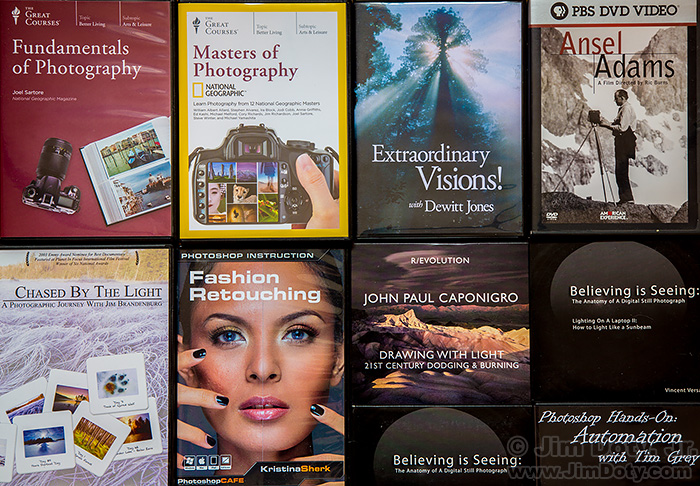 Photography DVDs