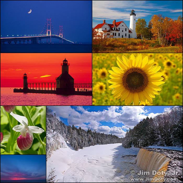Michigan Photo Collage