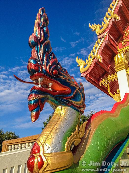 Wat Buddharatanaram, Buddhist Temple, Keller Texas