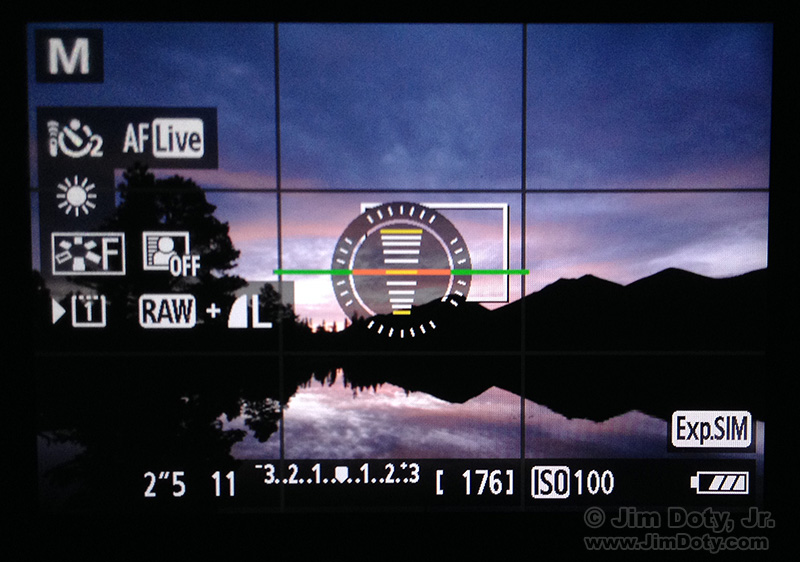 Canon 5D Mark III LCD
