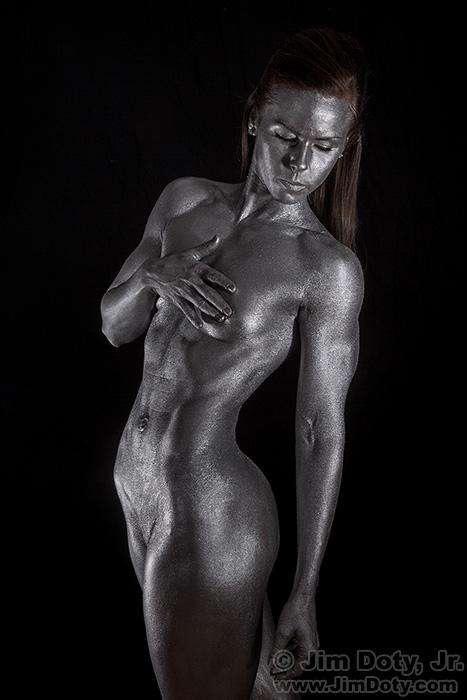 Sarah - Metallic Body Paint