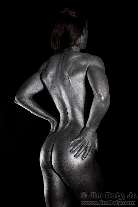 Sarah - Metallic Body Paint