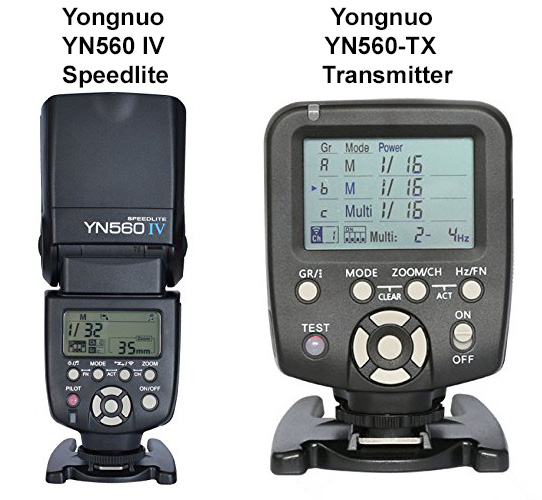 Yongnuo Radio Controlled Manual Flash System