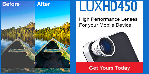LUX HD450 ad.