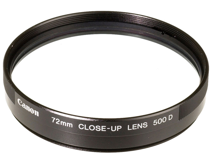 Canon 500D Double Element Close-Up Lens (Filter)