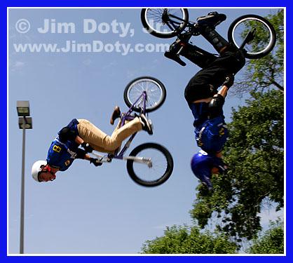 BMX Demo. Photo by Jim Doty Jr