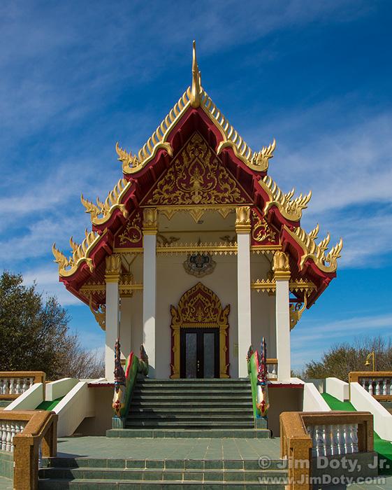 Buddhist in Temple, Keller Texas