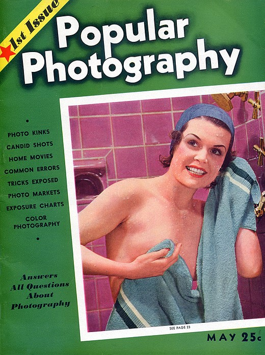 The first issue of Popular Photography, May 1937.
