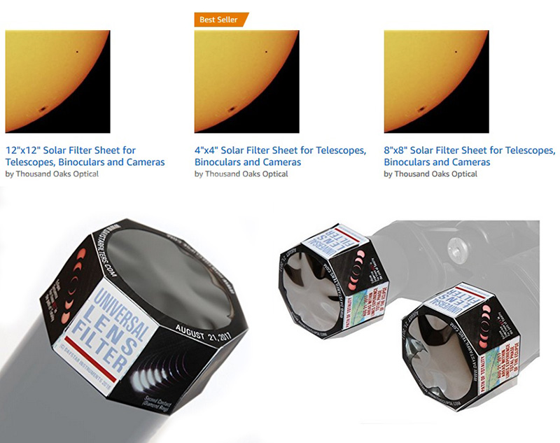 "make or buy your own inexpensive ""white light"" solar filter to watch ..."
