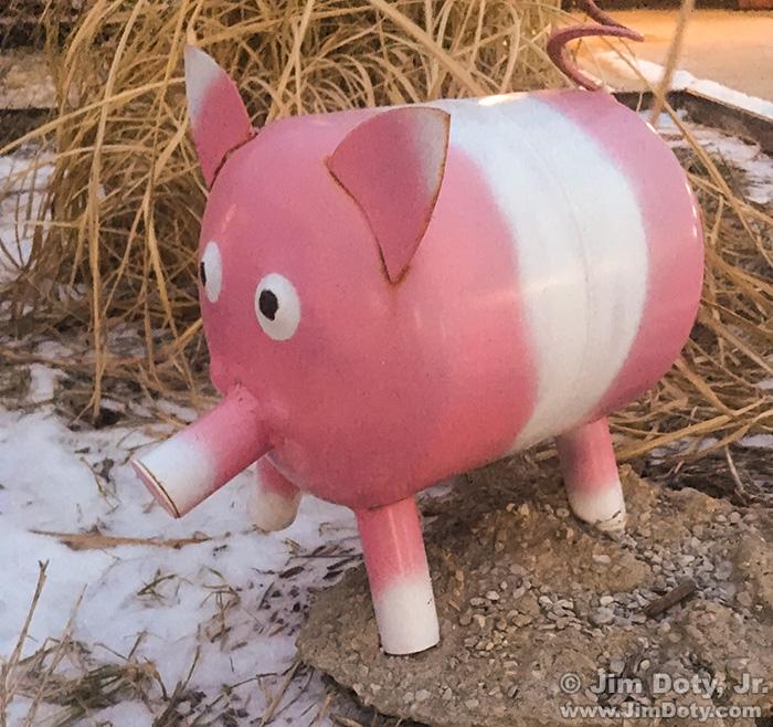 Pink Pig, Lamoni Iowa. February 9, 2019.