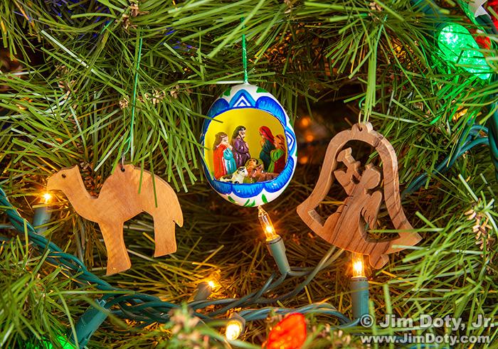 Christmas Ornaments, Lamoni Iowa. February 11, 2019.