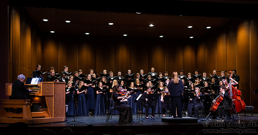 Graceland University Choir Concert, Lamoni Iowa. April 19, 2019