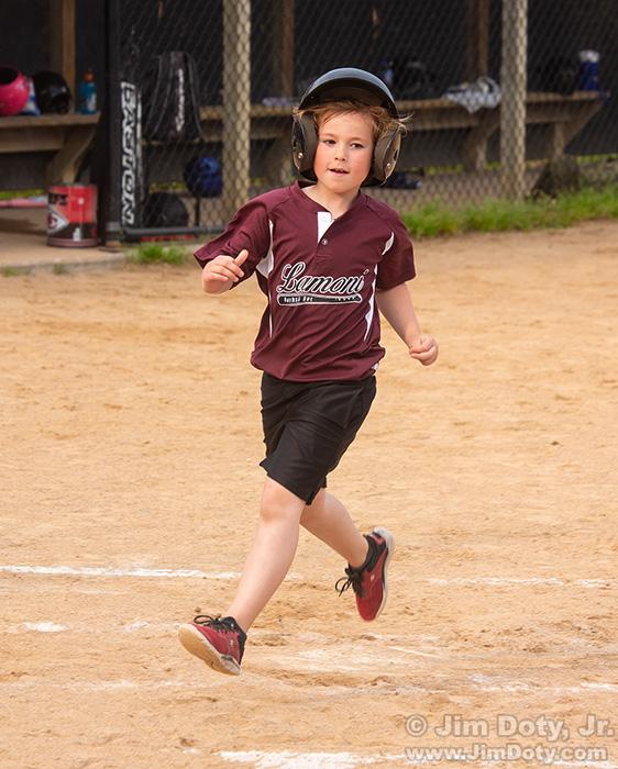 Terran, baseball, Lamoni Iowa. May 31, 2019.
