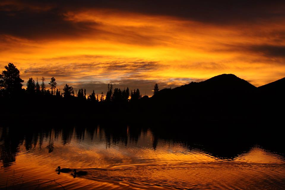 Dawn at Sprague Lake by Bob Walker, taken at the Colorado workshop.