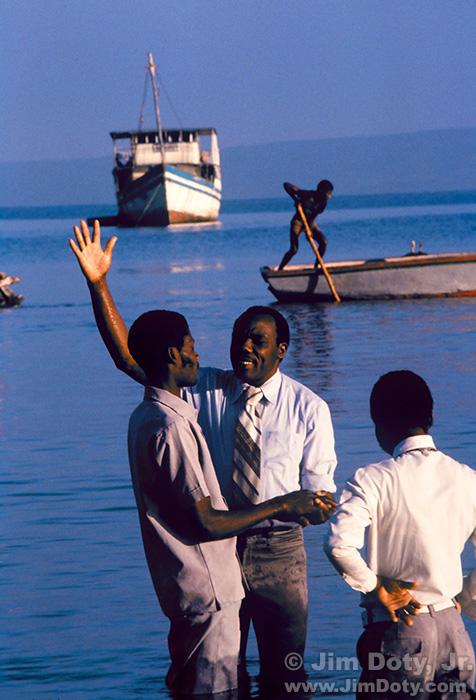 Baptism, Port-de-Paix, Haiti.