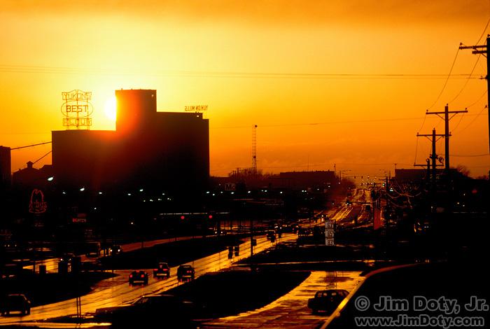 """Yukon Gold"", Sunset, Yukon Oklahoma"